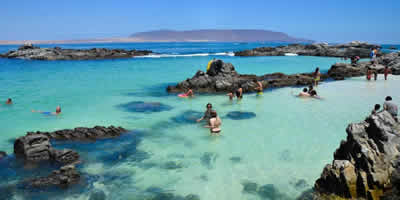 Agua  de Bahía Inglesa