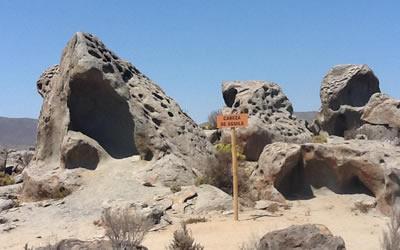 Zoológico de piedras de Caldera