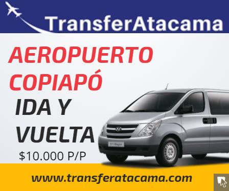Transfer aeropuerto de Copiapó